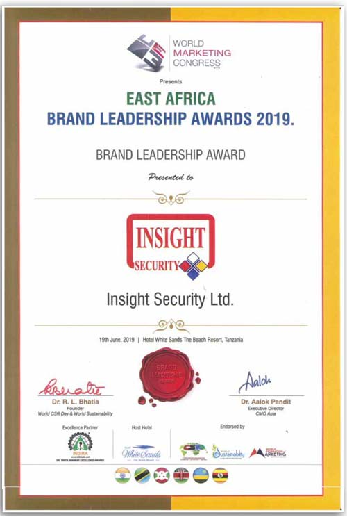 Insight Security Award